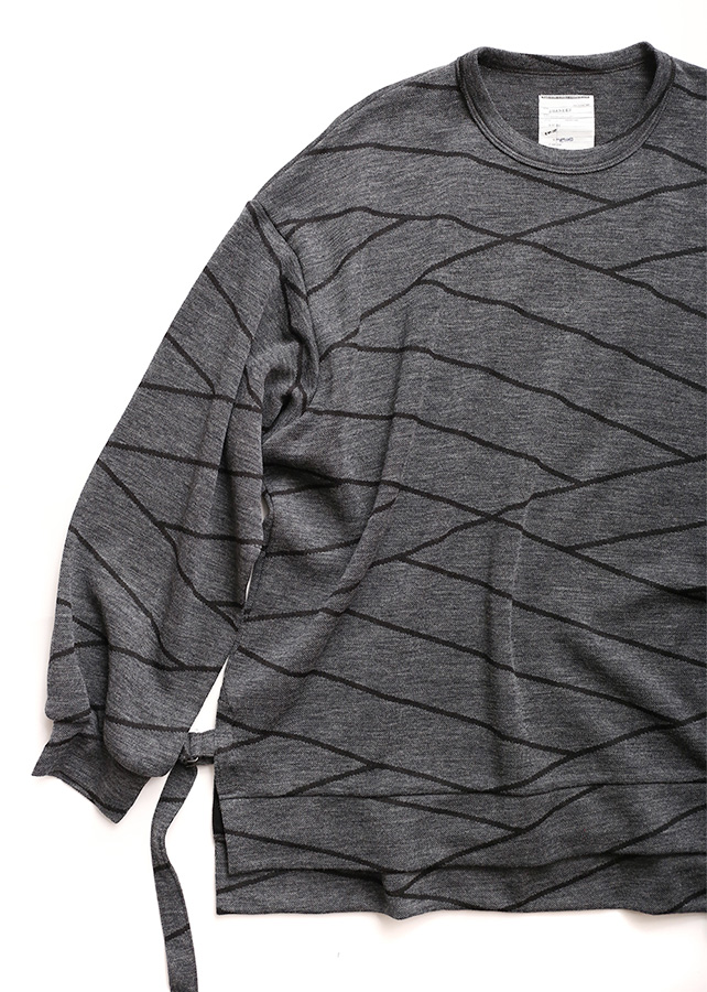 通常販売 BIAS LINE JQ L/S PULL-OVER