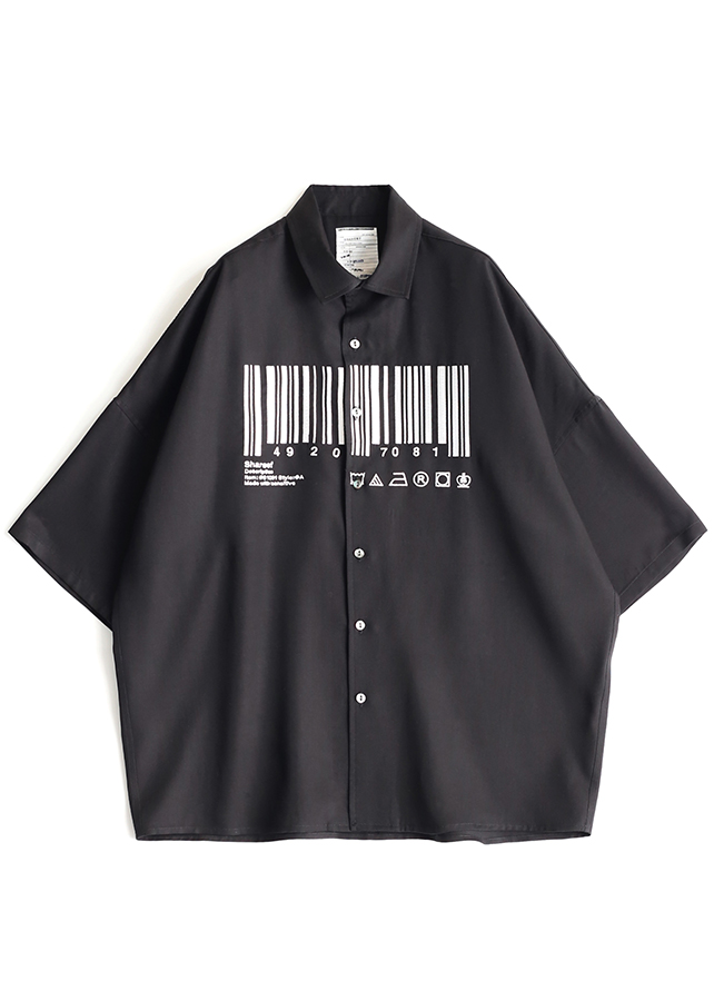"""BARCORD"" EMB. S/S BIG SHIRTS"