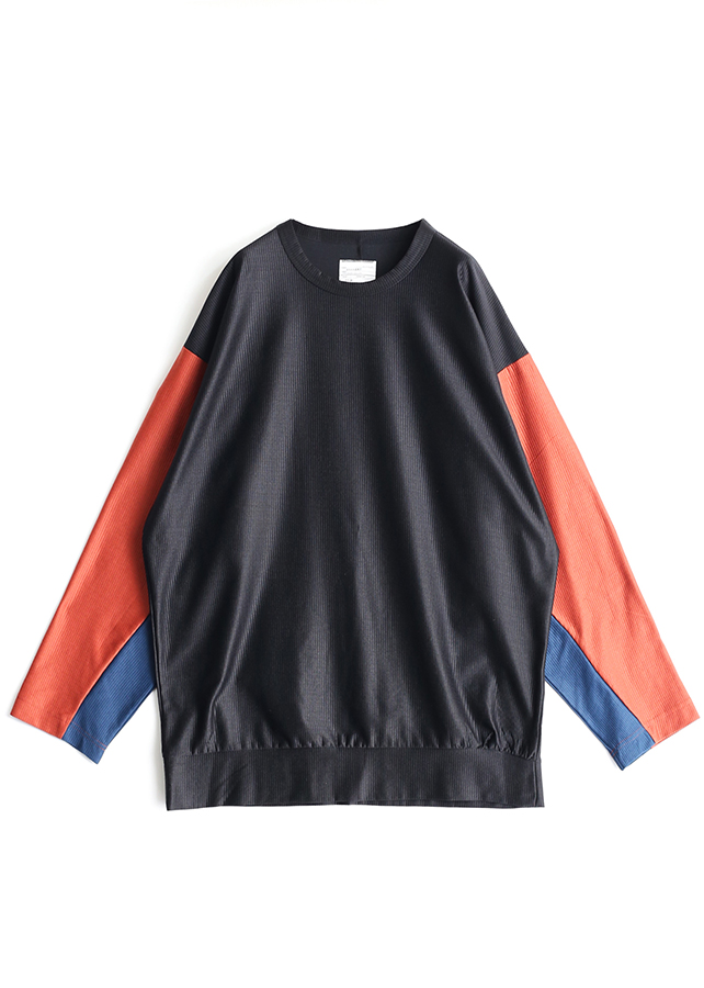 SHADOW STRIPE L/S BIG-T