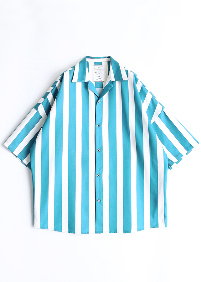 STRIPE  S/S BIG SHIRTS