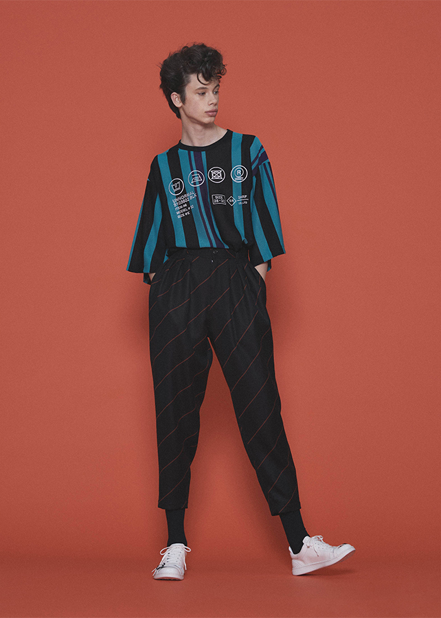 BE MALTI STRIPE S/S BIG-T