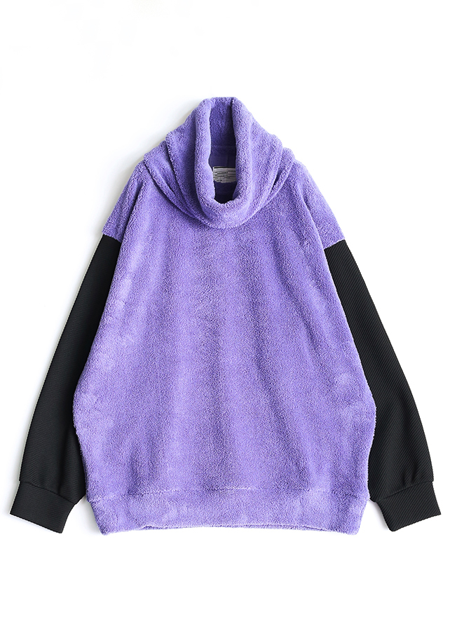 POLYESTER MOLE PULL OVER  (REMOVABLE NECK)