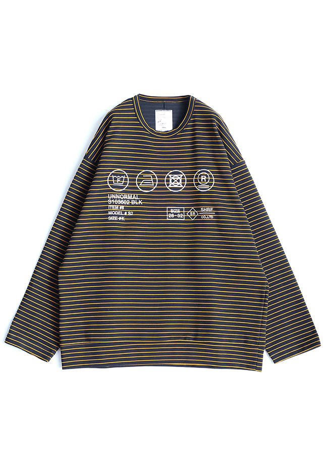 RIPPLE BORDER L/S PULL OVER