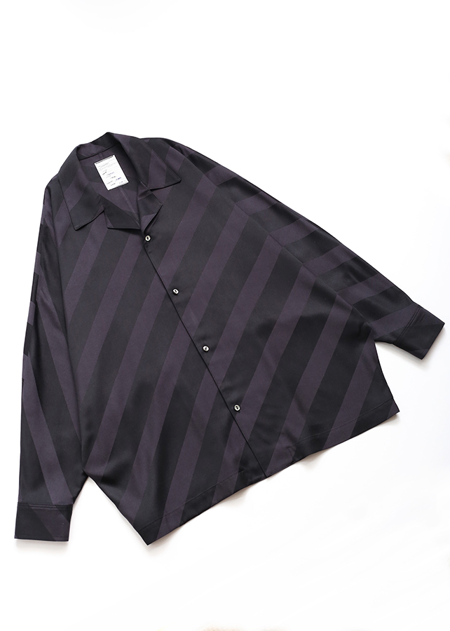 BIAS STRIPE DOLMAN SHIRTS