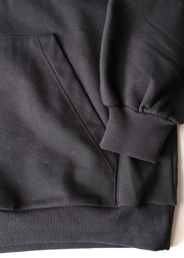 TWILL KNITTED SWICTING HOODIE