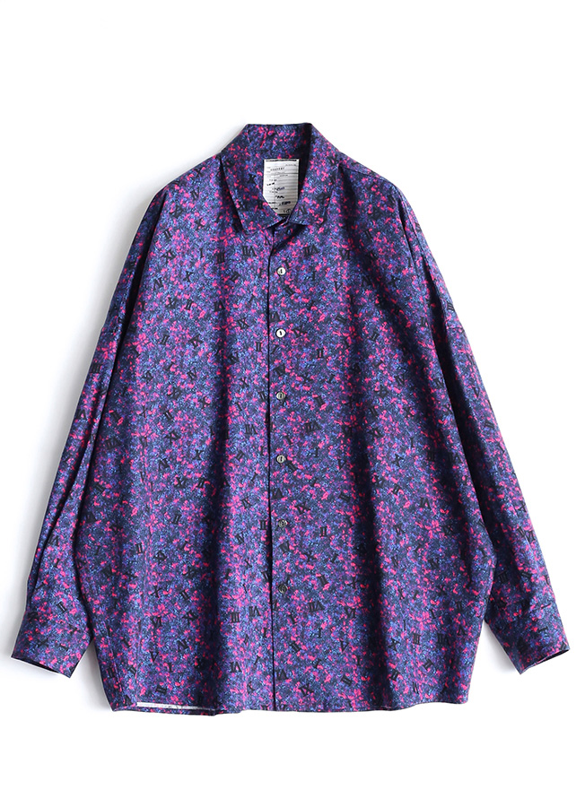 COLOR CAMOUFLAGE BIG SHIRTS