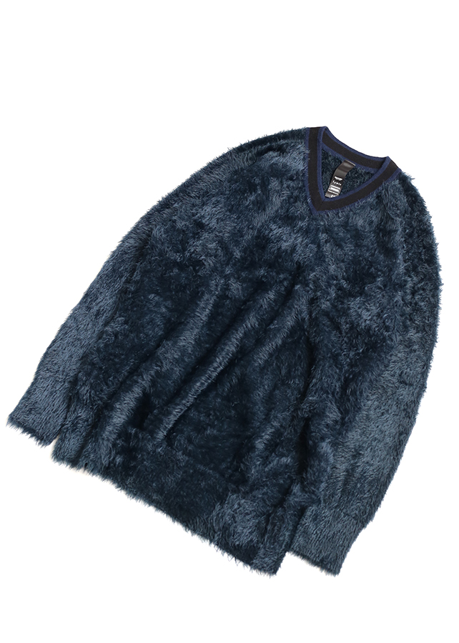 【予約商品】 LONG SHAGGY PULL-OVER