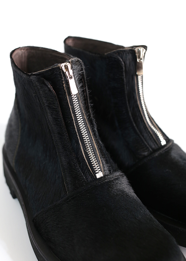 ZIP-UP SHORT BOOTS