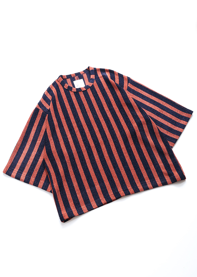 E/R STRIPE S/S BIG-T