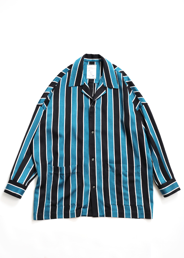 通常販売 STRIPE PAJAMA SHIRTS