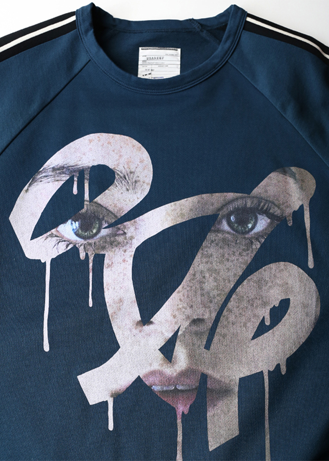"""FACE"" SWEAT PULL-OVER"