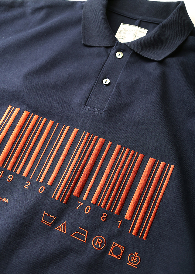 """BARCODE"" BIG POLO"