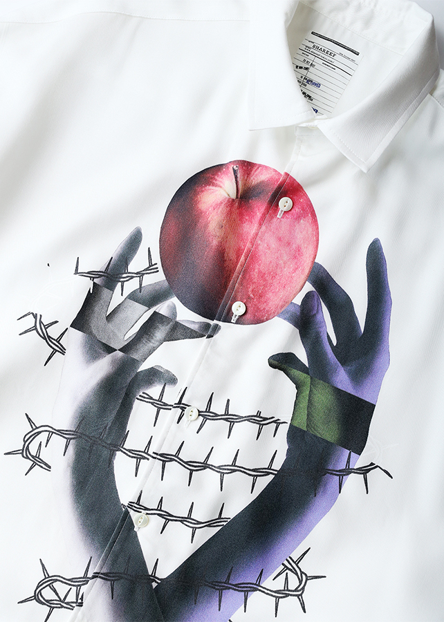 """APPLE"" S/S BIG SHIRTS"