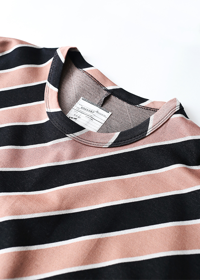 BIAS STRIPE BIG-T