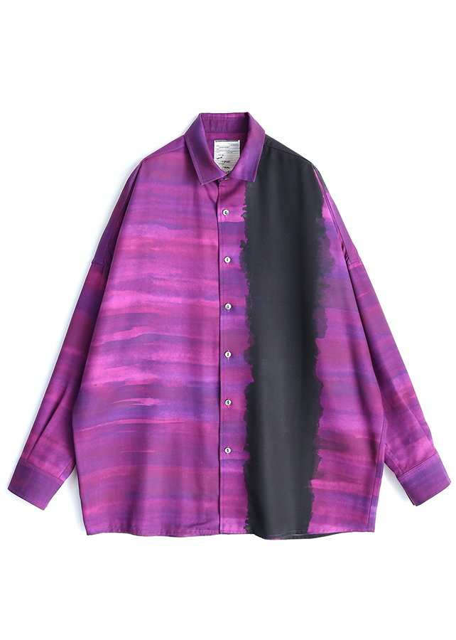 PATTERNED ALL OVER L/S BIG SHIRTS