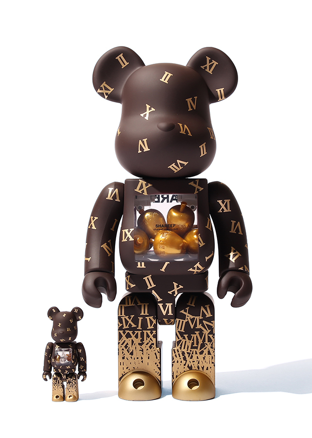 SHAREEF×BE@RBRICK 第2弾/Brown