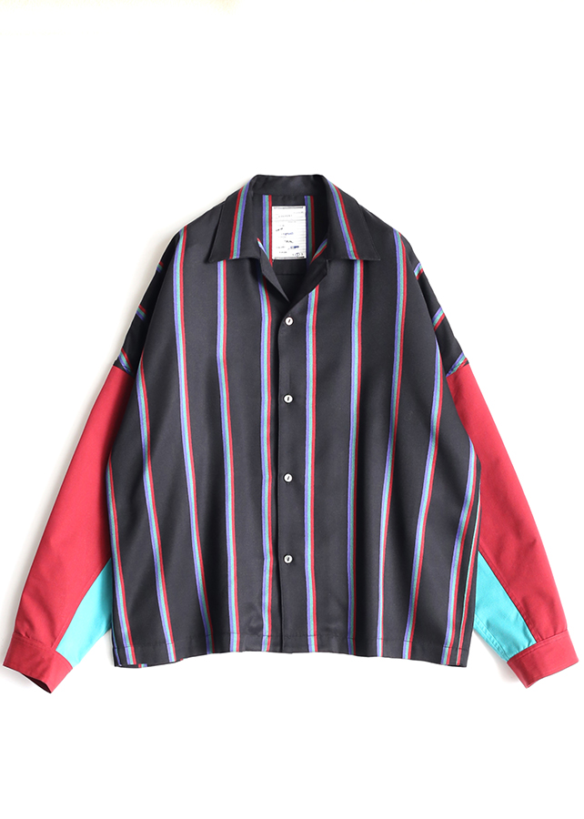 RGB STRIPE SHORT SHIRTS/RGB Stripe