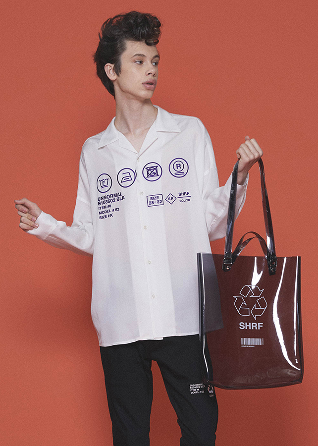 """CARE LABEL""  BIG SHIRTS/White"