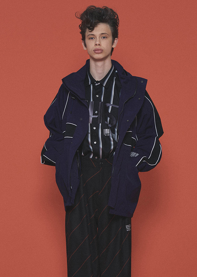 PARKA JACKET/Navy