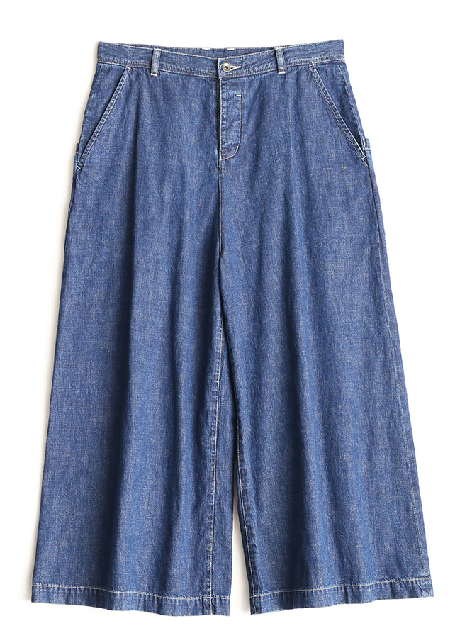 6.5OZ DENIM FLARE PANTS CHEMICAL/W/Indigo
