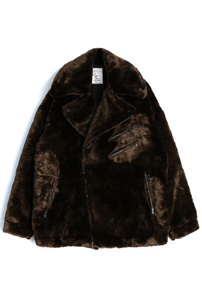 【予約商品】 FUR BIG RIDERS JK