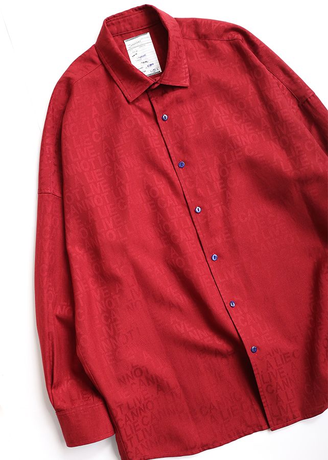 【予約商品】 TYPO JQ BIG SHIRTS