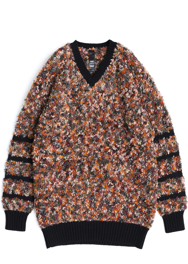 【予約商品】 LOOP YARN PULL-OVER