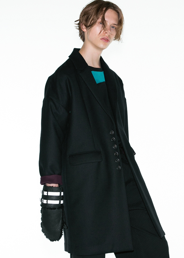 【予約商品】 W-FACE CHESTER COAT