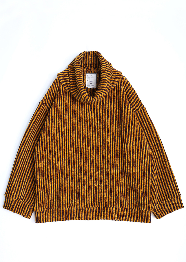【予約商品】 MOLE STRIPE P/O (REMOVABLE NECK)