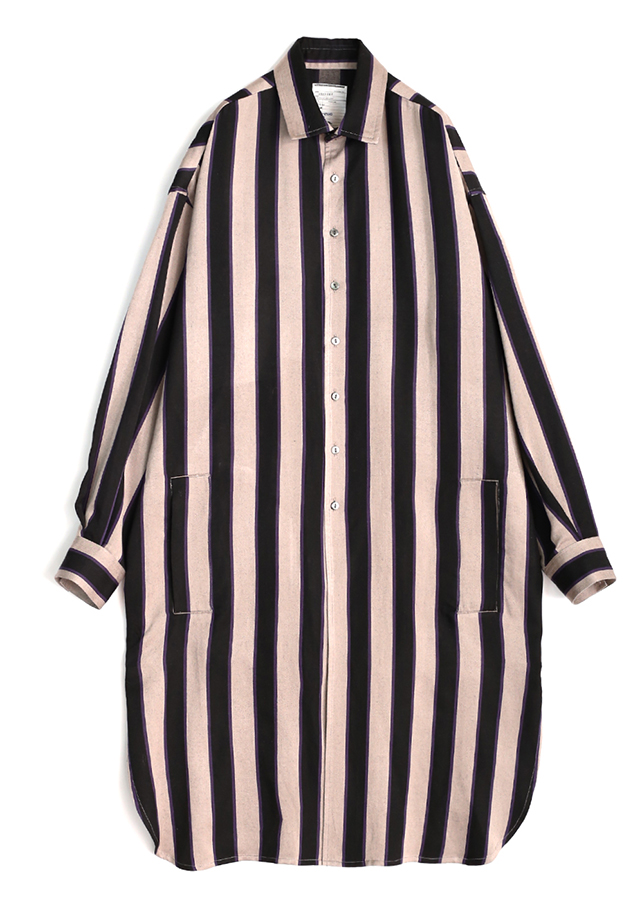 【予約商品】 STRIPE LONG SHIRTS