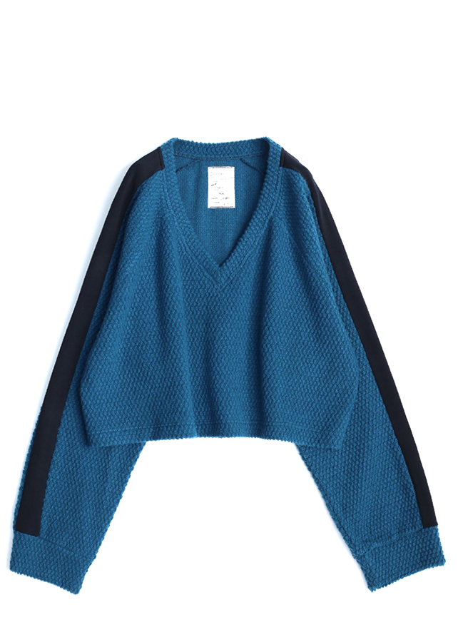 【予約商品】 WOOL RUSSELL SHORT PULL-OVER