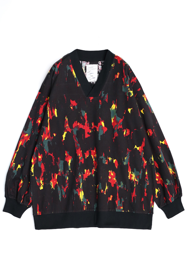 通常販売 PAINT PT L/S V-NECK PULL-OVER