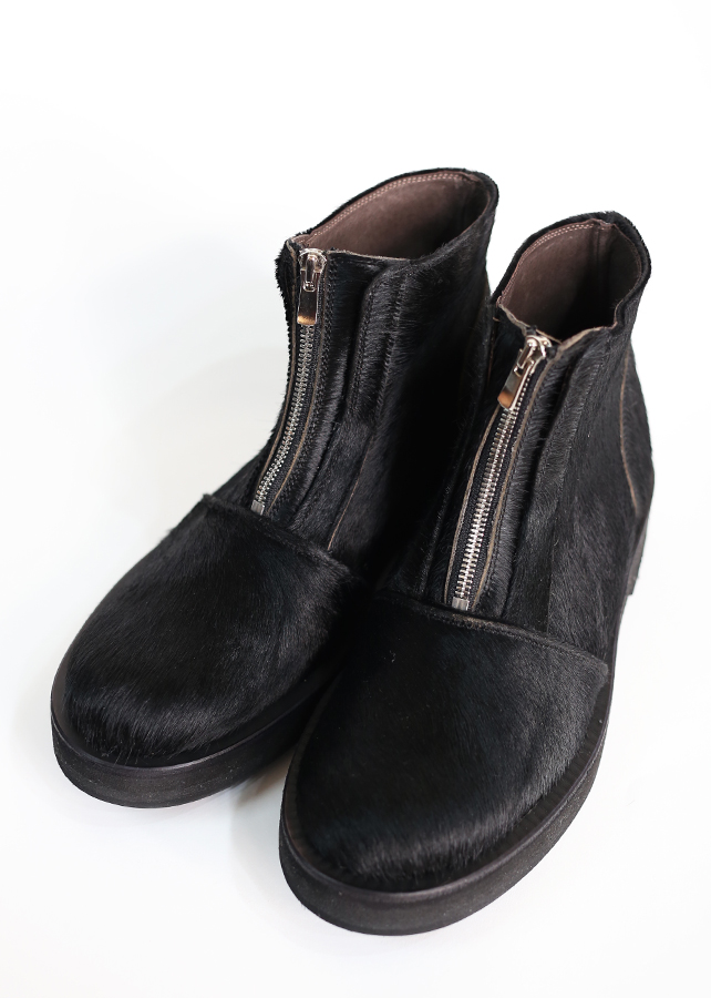 通常販売 ZIP-UP SHORT BOOTS