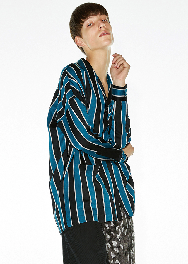 【予約商品】 STRIPE PAJAMA SHIRTS