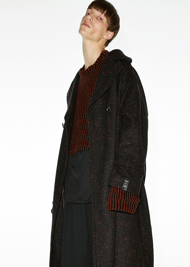 【予約商品】 NEP MELTON LONG COAT