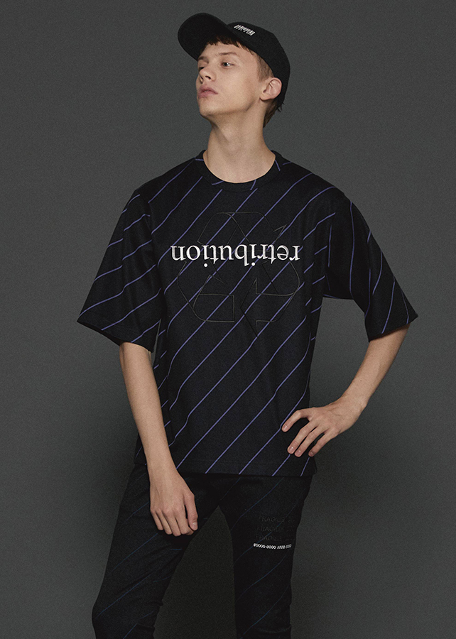BIAS LINE S/S BIG-T/Black