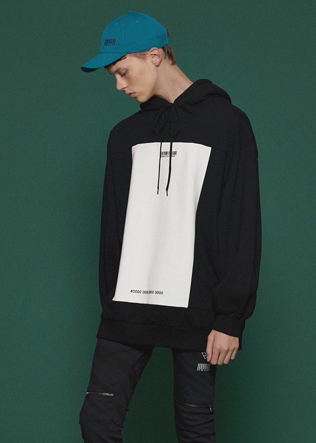 SWITCHING BIG HOODIE/Black