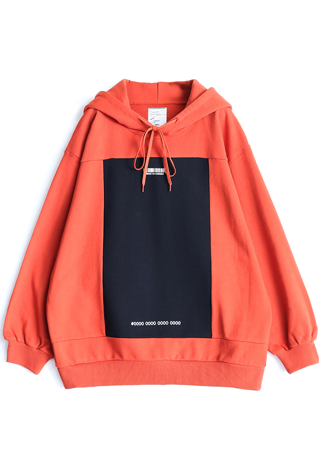 SWITCHING BIG HOODIE/Orange