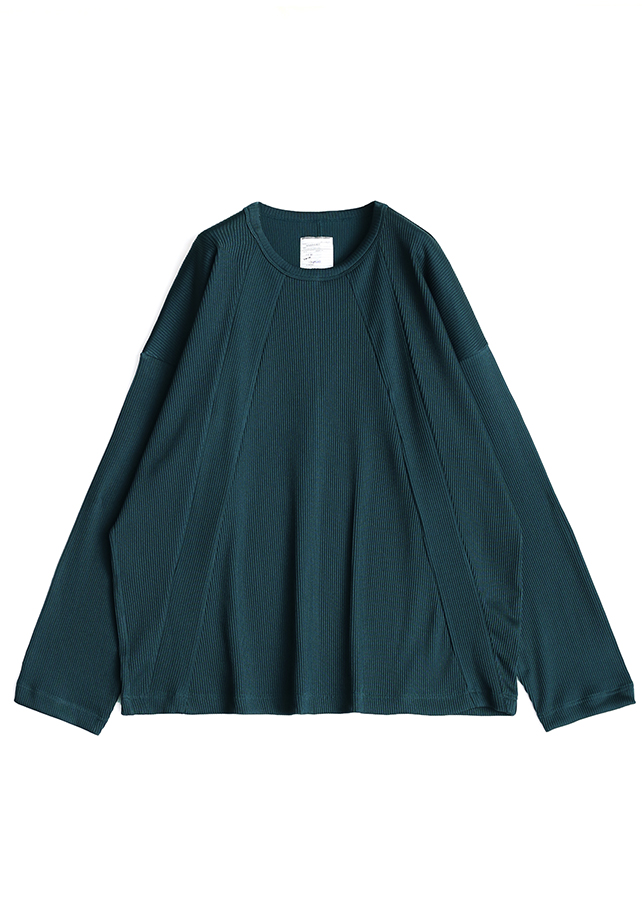 MINI RIB L/S BIG-T/Navy Green