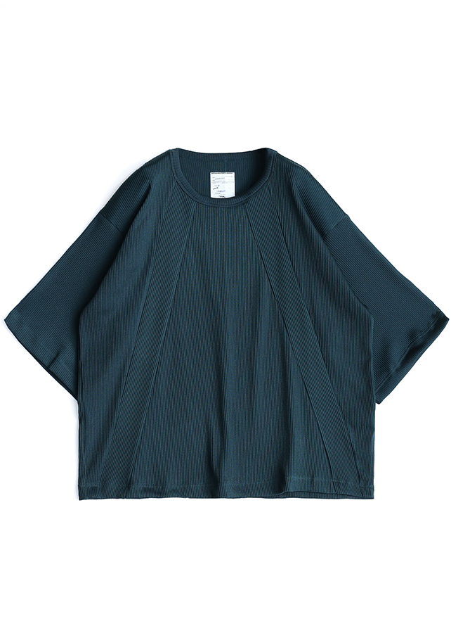 MINI RIB S/S BIG-T/Navy Green