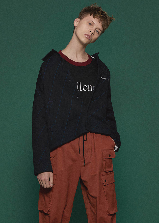 BIAS LINE SHORT/Black