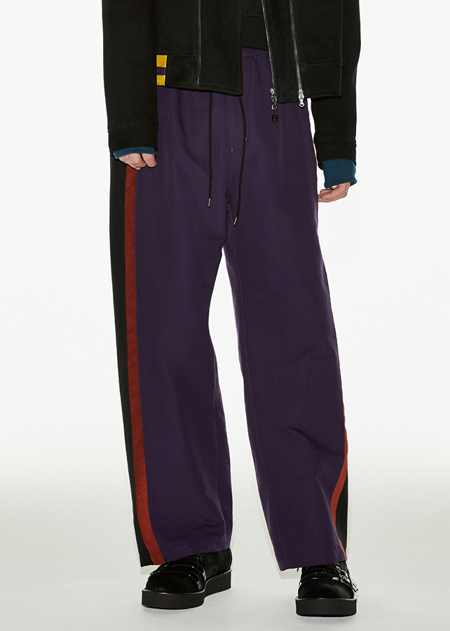 TRACK PANTS/Purple