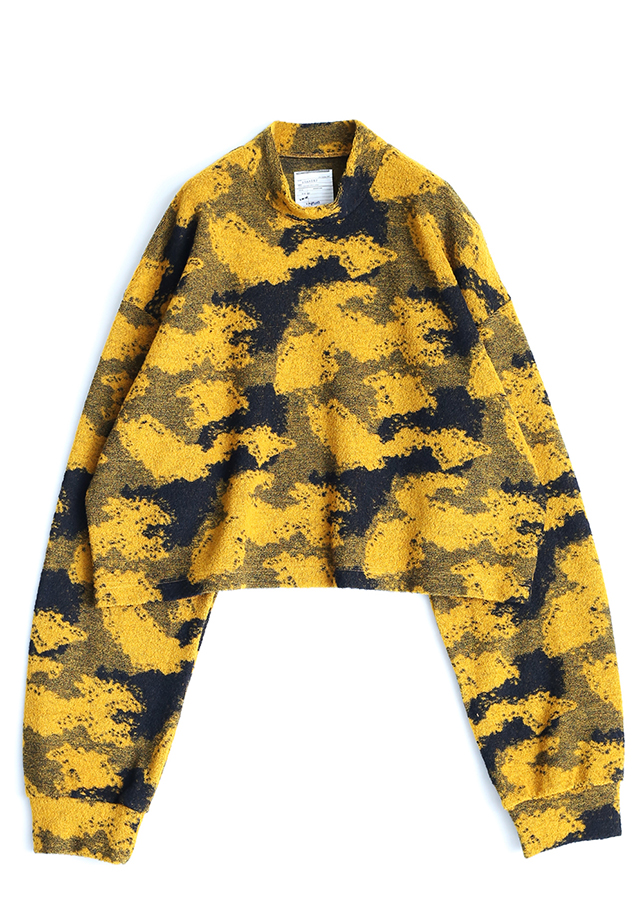 PILE JQ SHORT PULL OVER/Yellow
