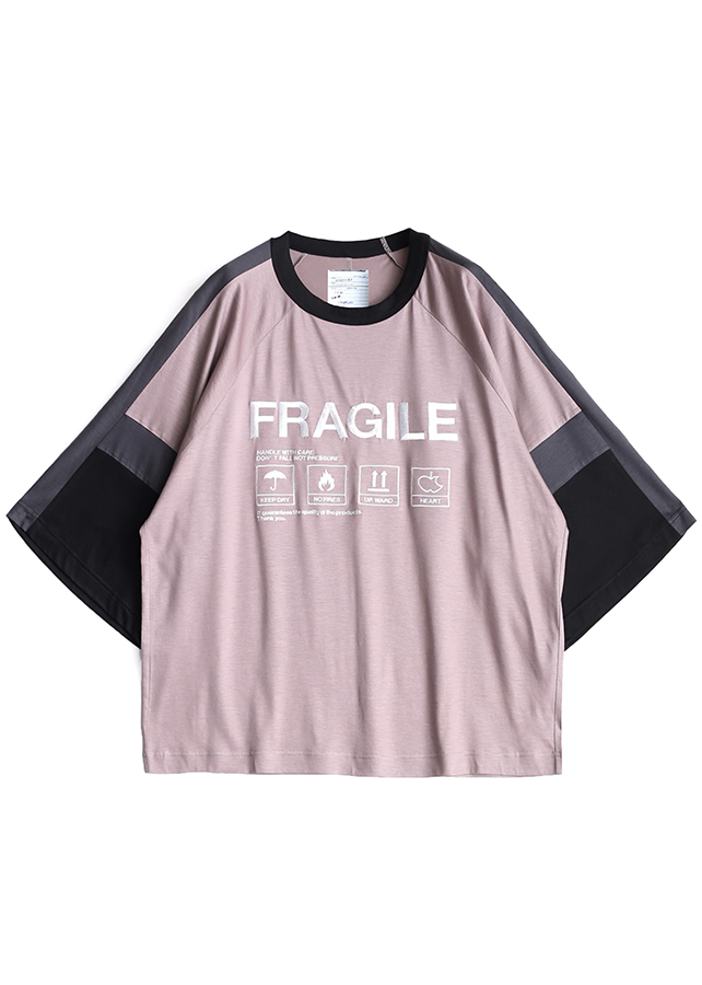 """FRAGILE"" SWITCHING BIG-T/Beige"