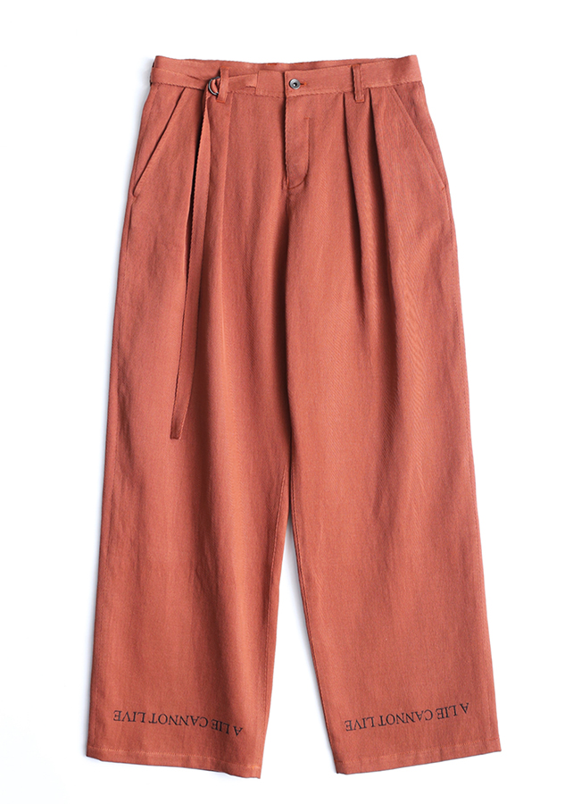 C/L/R KARSEY WIDE PANTS/Orange