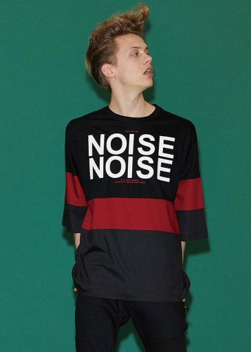 """NOISE"" PT. SWITSHING BIG-T/ Black*Red"