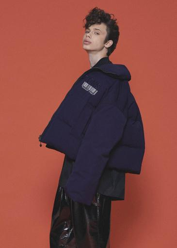 "DOWN BLOUSON ""INSTRUCTIONS""/Navy"