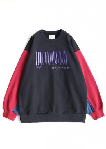 """BARCORD"" BIG SWEAT/Red"