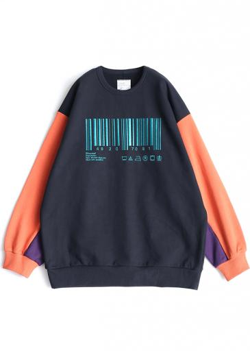 """BARCORD"" BIG SWEAT/Orange"