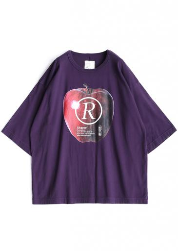 """APPLE R""  S/S BIG-T/Purple"